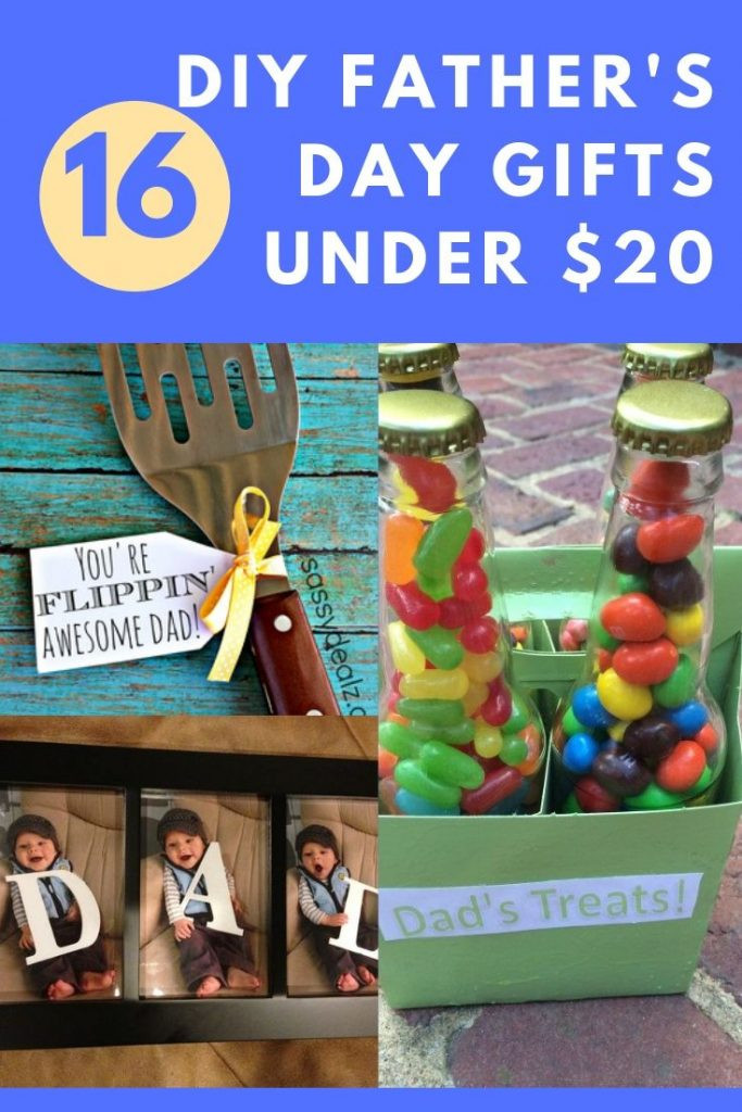 DIY Father'S Day Gifts From Kids  16 DIY Father s Day Gifts Under $20 Kids Can Help Too