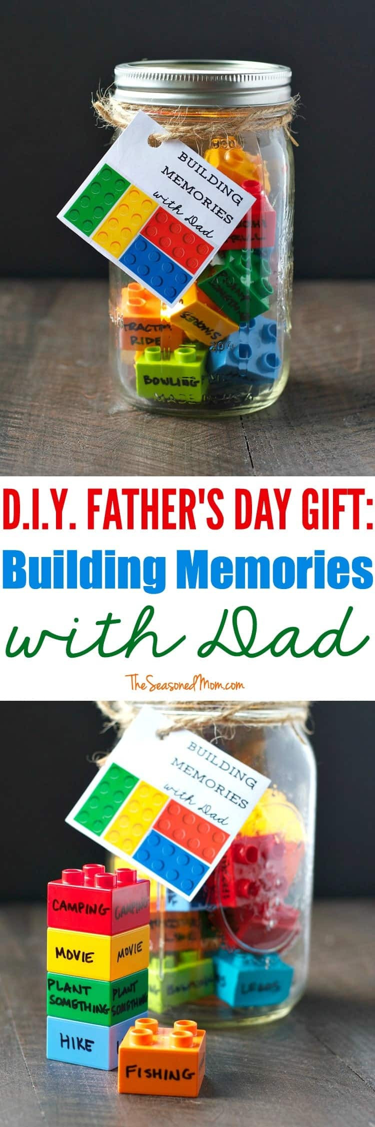 DIY Father'S Day Gifts From Kids  DIY Father s Day Gift Building Memories with Dad The