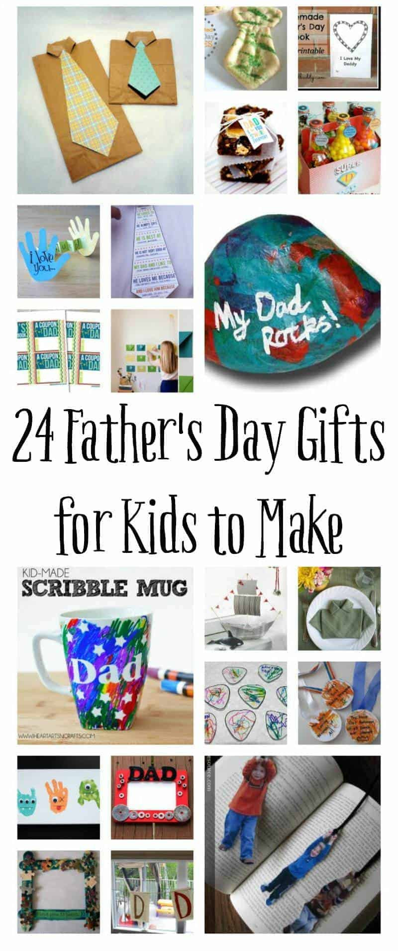 DIY Father'S Day Gifts From Kids  Homemade Father s Day Gifts for Kids to Make
