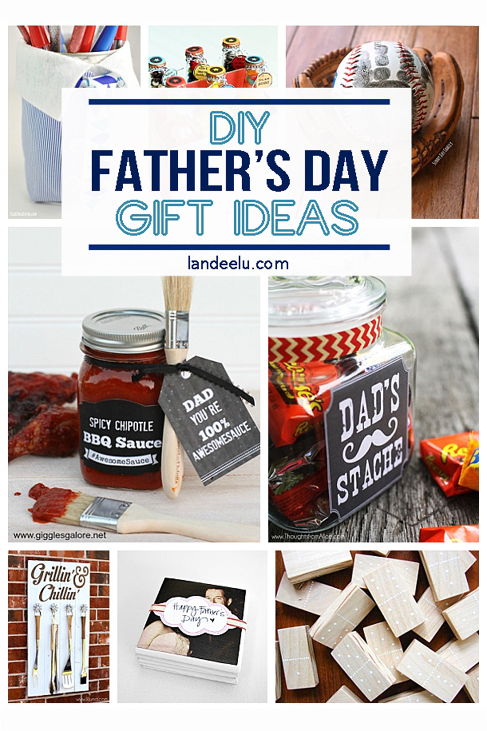 DIY Father'S Day Gifts From Kids  21 DIY Father s Day Gifts to Celebrate Dad landeelu
