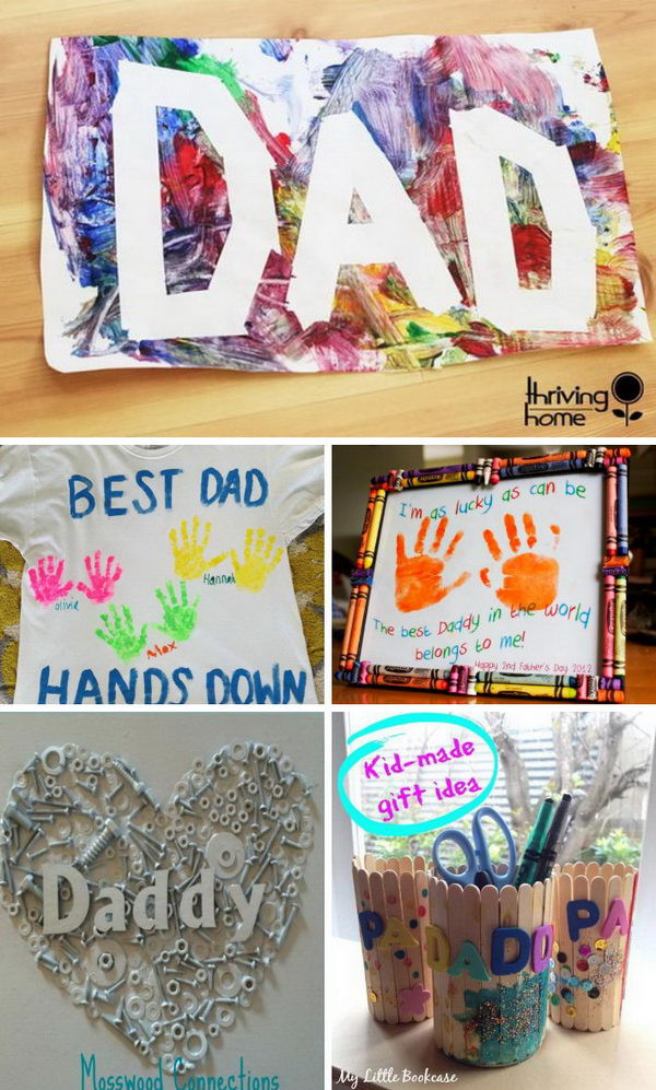 DIY Father'S Day Gifts From Kids  Awesome DIY Father s Day Gifts From Kids