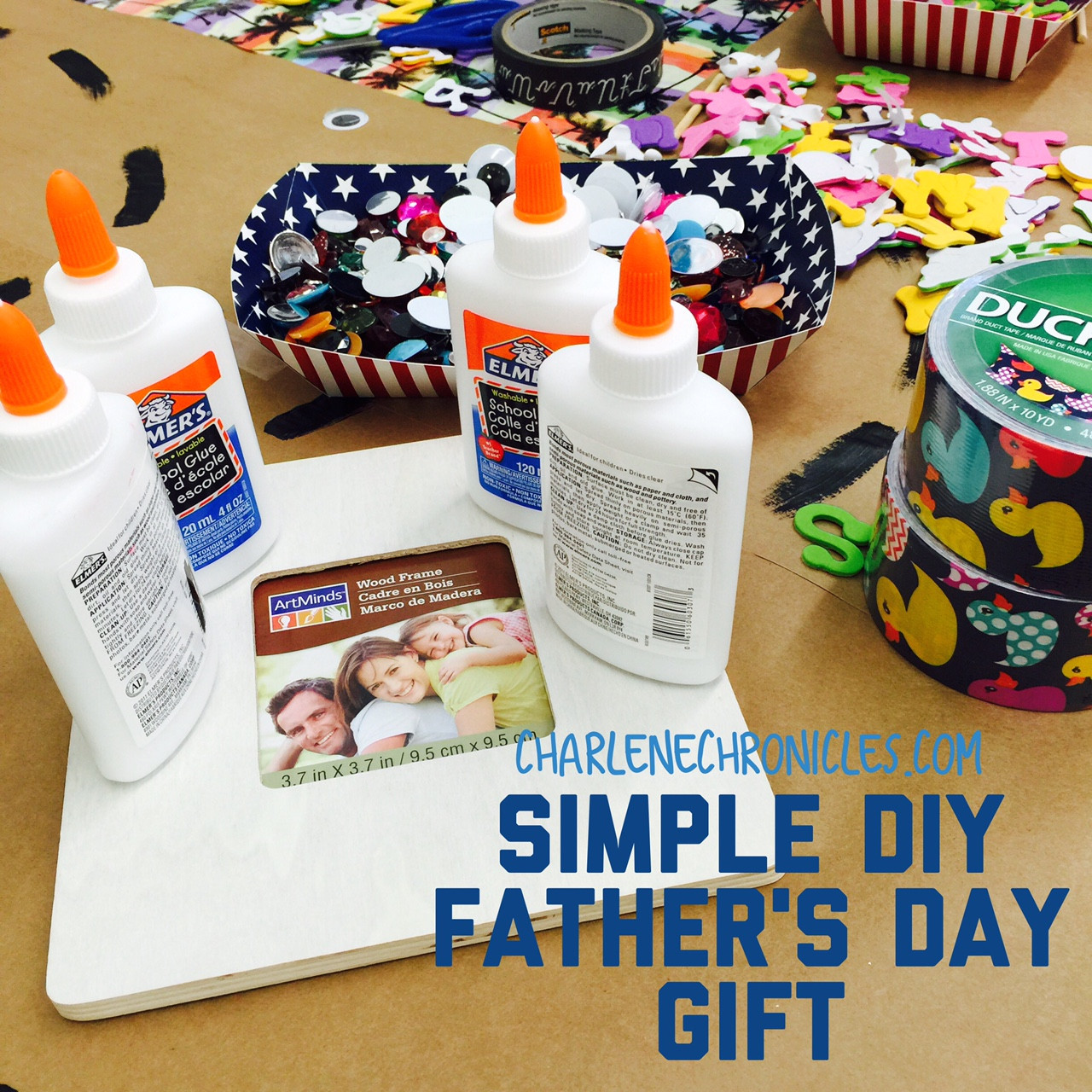 DIY Father'S Day Gifts From Kids  Simple DIY Father s Day Gift Charlene Chronicles