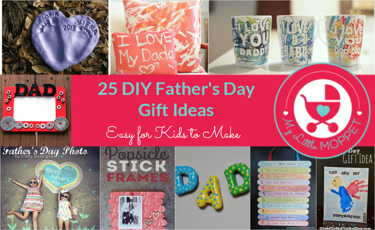 DIY Father'S Day Gifts From Kids  25 Easy DIY Father s Day Gift Ideas