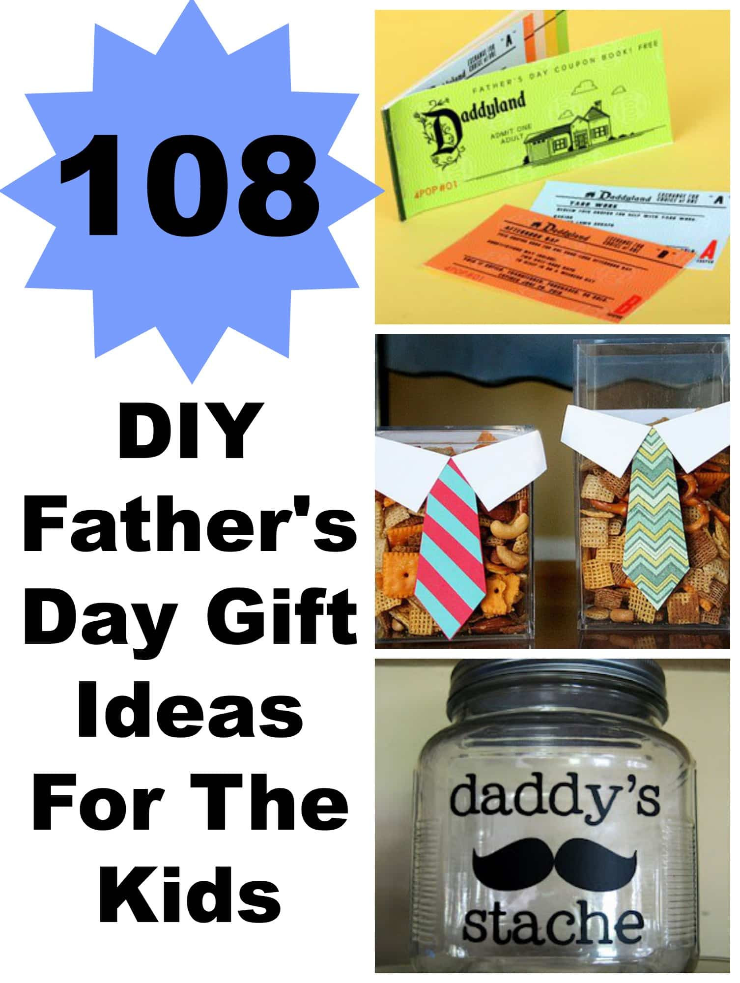 DIY Father'S Day Gifts From Kids  108 DIY Father s Day Gift Ideas For The Kids Lady and