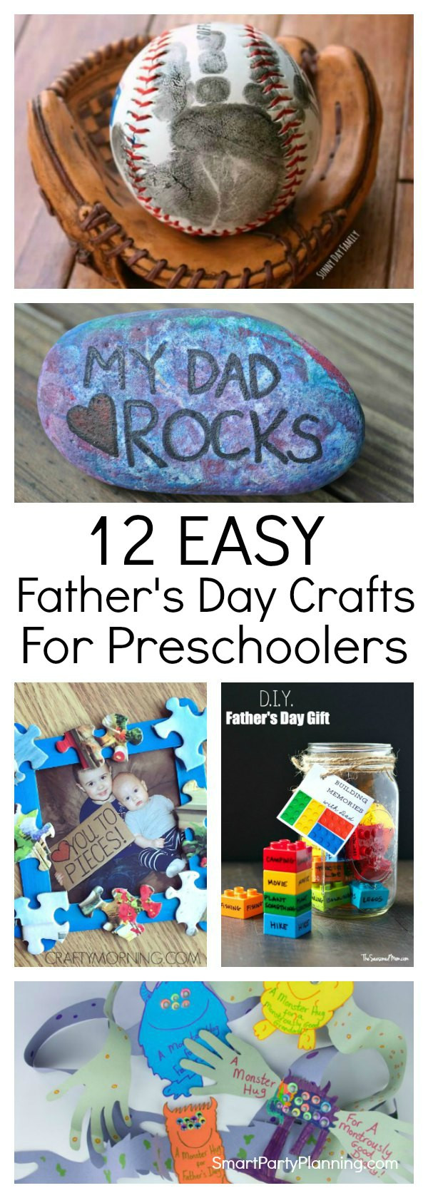 DIY Father'S Day Gifts From Kids  12 Easy Fathers Day Crafts For Preschoolers To Make