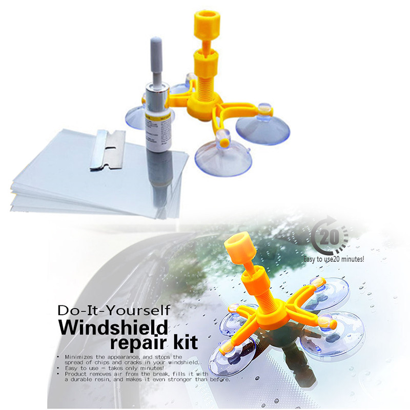 DIY Fix Cracked Windshield  DIY Glass Crack Repair Kit LiZZLY