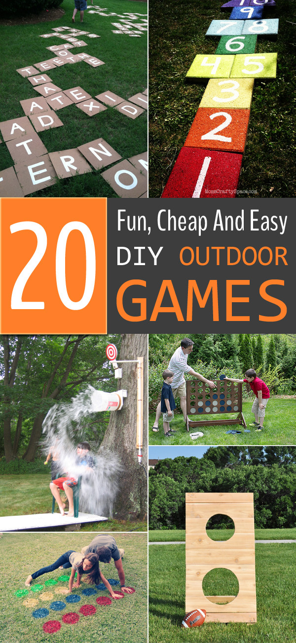 DIY Games For Toddlers  20 Fun Cheap And Easy DIY Outdoor Games For The Whole Family