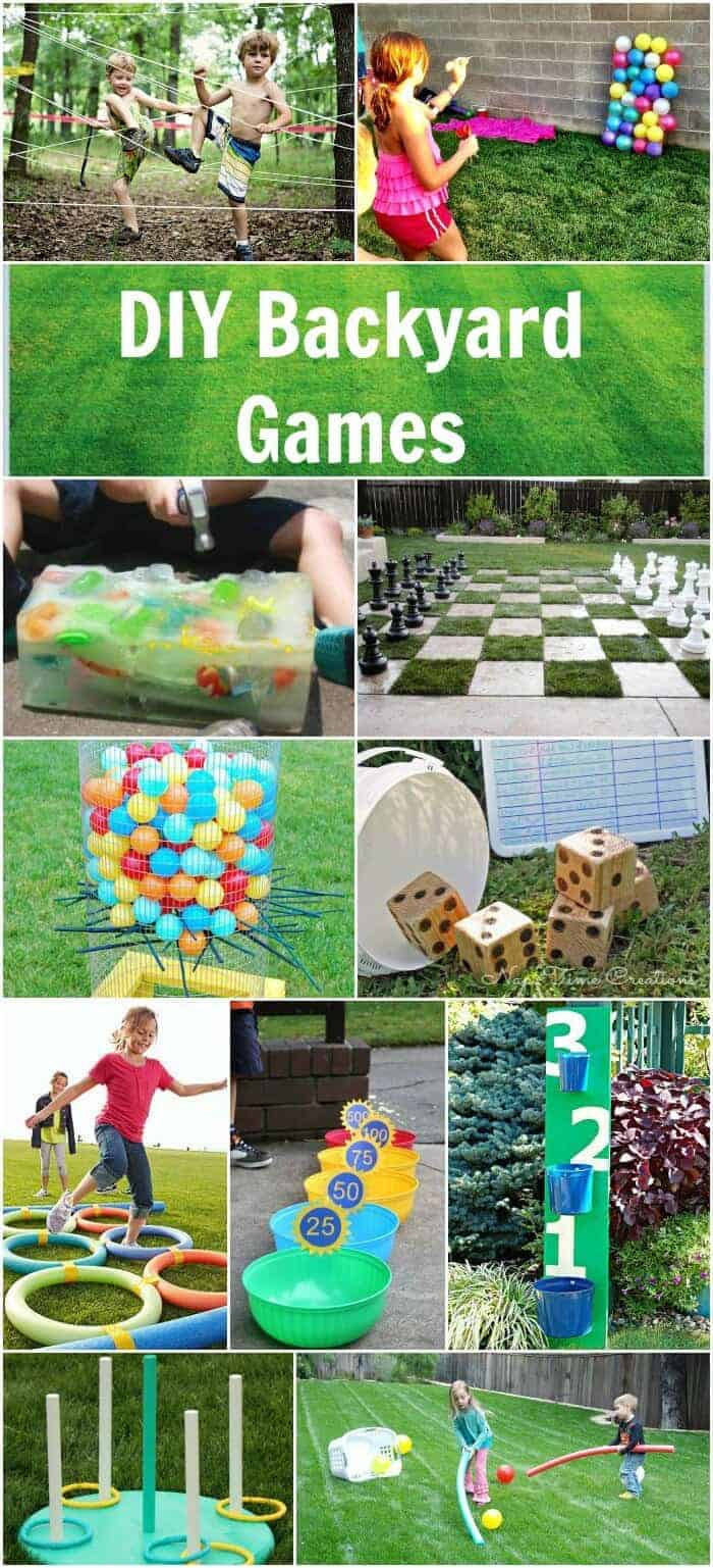 DIY Games For Toddlers  Easy DIY Backyard Games Page 2 of 2 Princess Pinky Girl