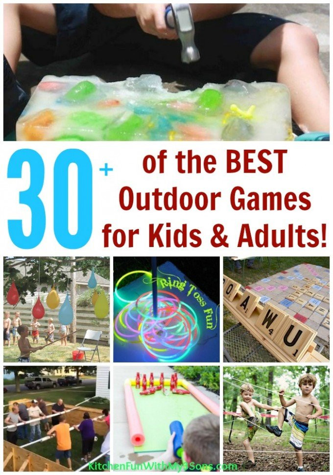 DIY Games For Toddlers  30 Best Backyard Games For Kids and Adults