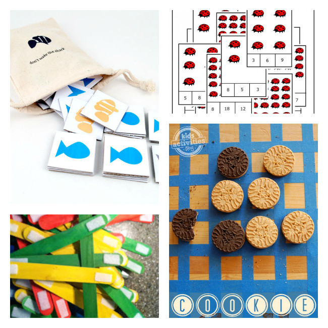 DIY Games For Toddlers  12 DIY Board Games for Kids Boogie Wipes