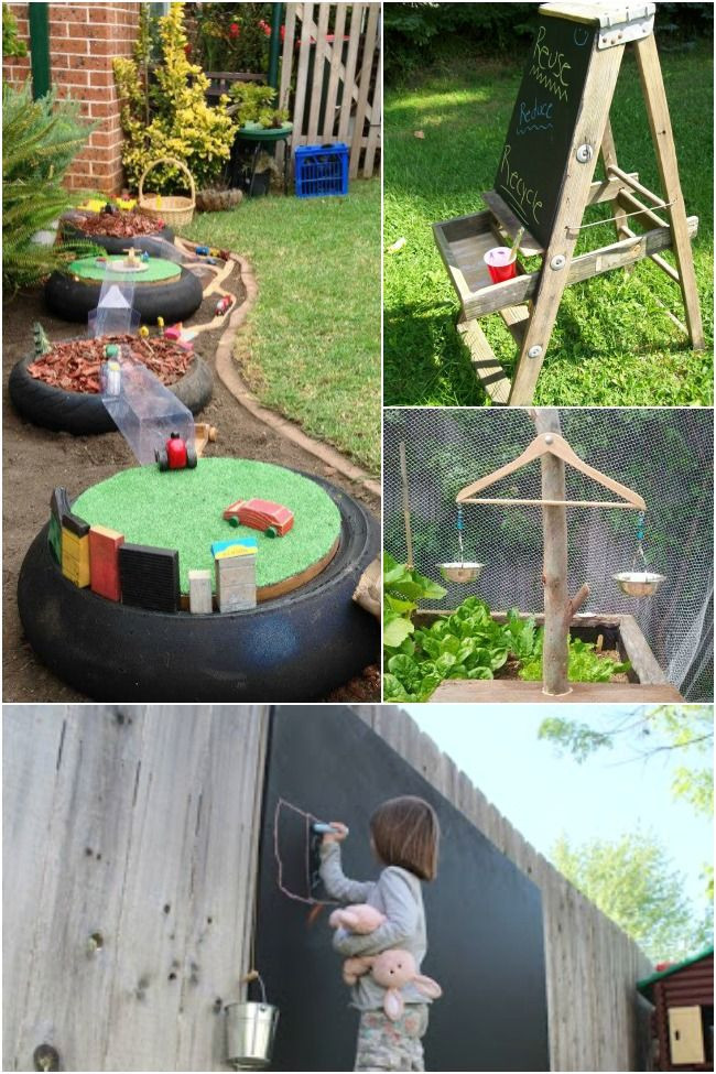 DIY Kids Backyard  133 best images about Backyard and Outside the house on