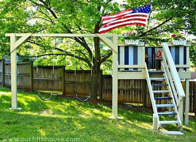 DIY Kids Clubhouse  8 Kids Clubhouses You Never Want to Outgrow