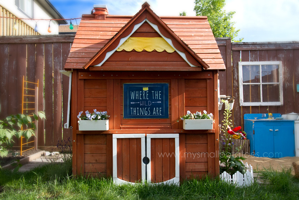 DIY Kids Clubhouse  Kids ly Backyard Clubhouse…A Very Special DIY