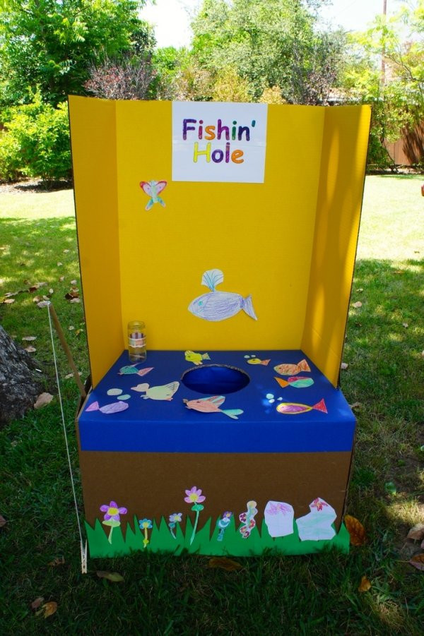 DIY Kids Party Games  Fishing Hole 31 DIY Carnival Games for a Rockin Party …