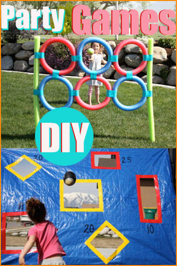 DIY Kids Party Games  DIY Party Games Paige s Party Ideas