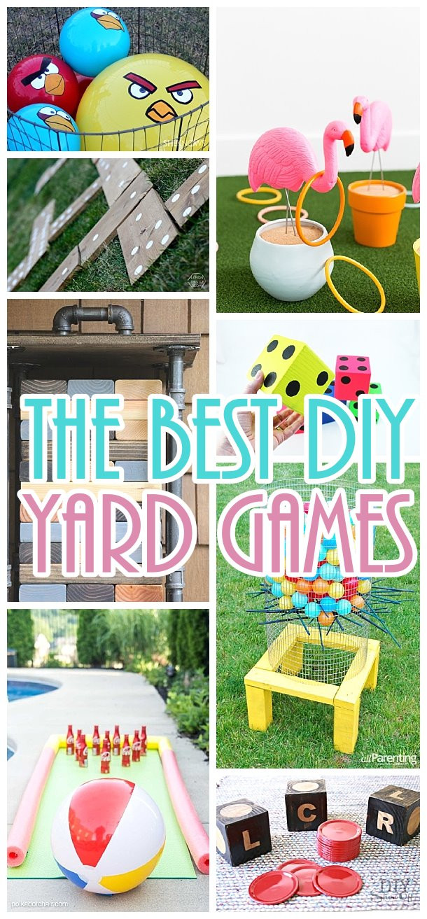 DIY Kids Party Games  Do it Yourself Outdoor Party Games The BEST Backyard