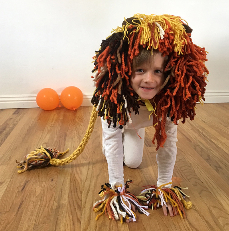 DIY Lion Costume For Toddler  DIY Halloween Costumes for Kids 4 Adorable Easy Looks