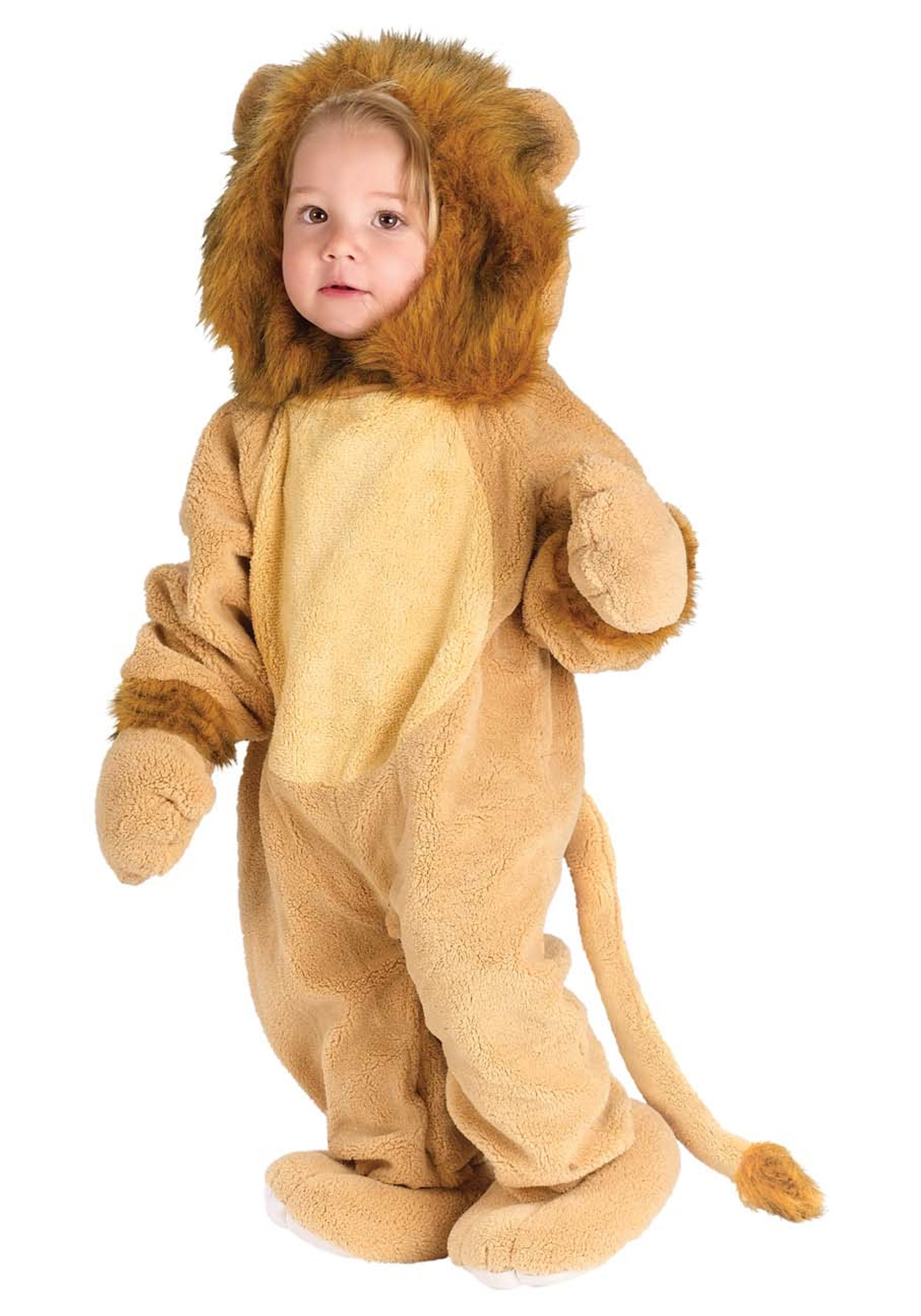 DIY Lion Costume For Toddler  Baby Cuddley Lion Costume
