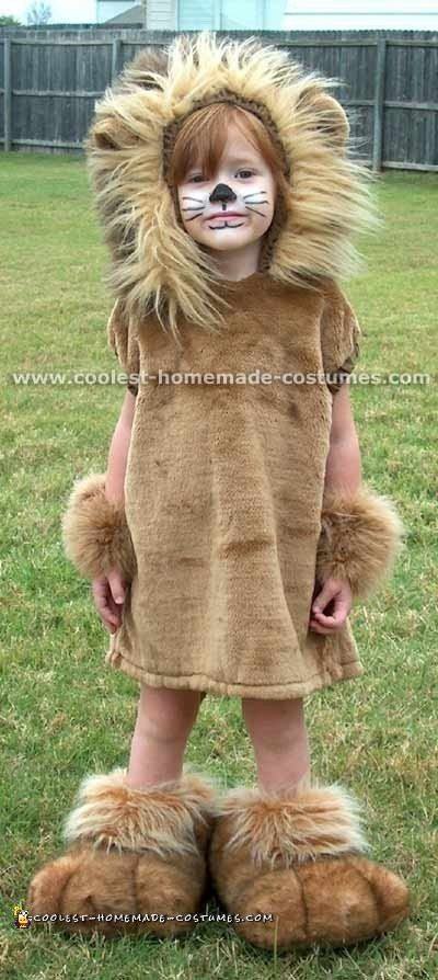 DIY Lion Costume For Toddler  7 Coolest Homemade Lion Costume Ideas for Kids