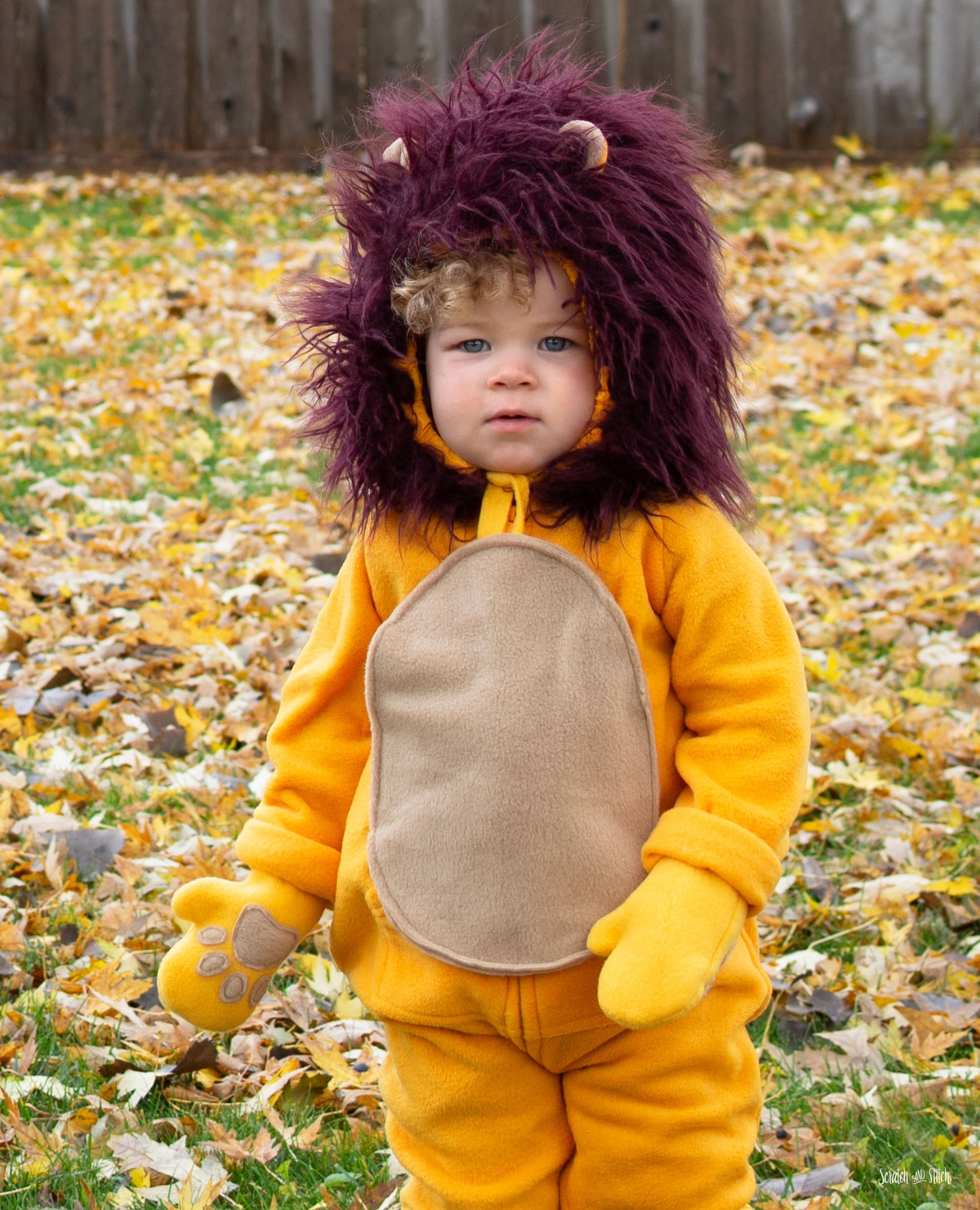 DIY Lion Costume For Toddler  DIY Lion Costume for Babies Kids or Adults