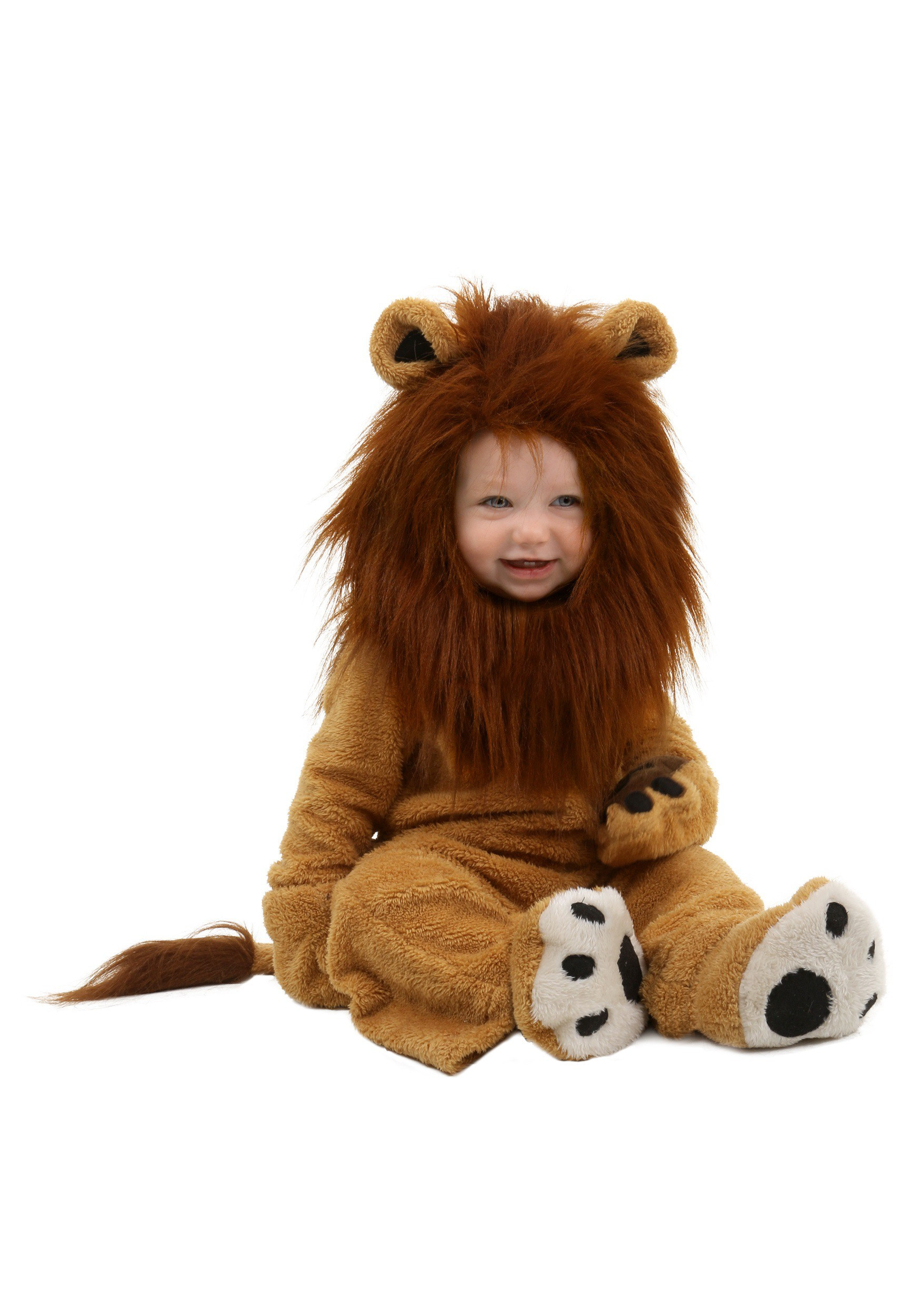 DIY Lion Costume For Toddler  Infant Deluxe Lion Costume