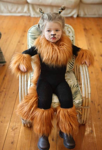 DIY Lion Costume For Toddler  15 COOLEST DIY HALLOWEEN GIRLS COSTUMES — PART 3