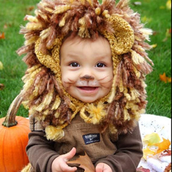 DIY Lion Costume For Toddler  Lion Costume Baby Lion Costume Lion Hat and Tail Toddler