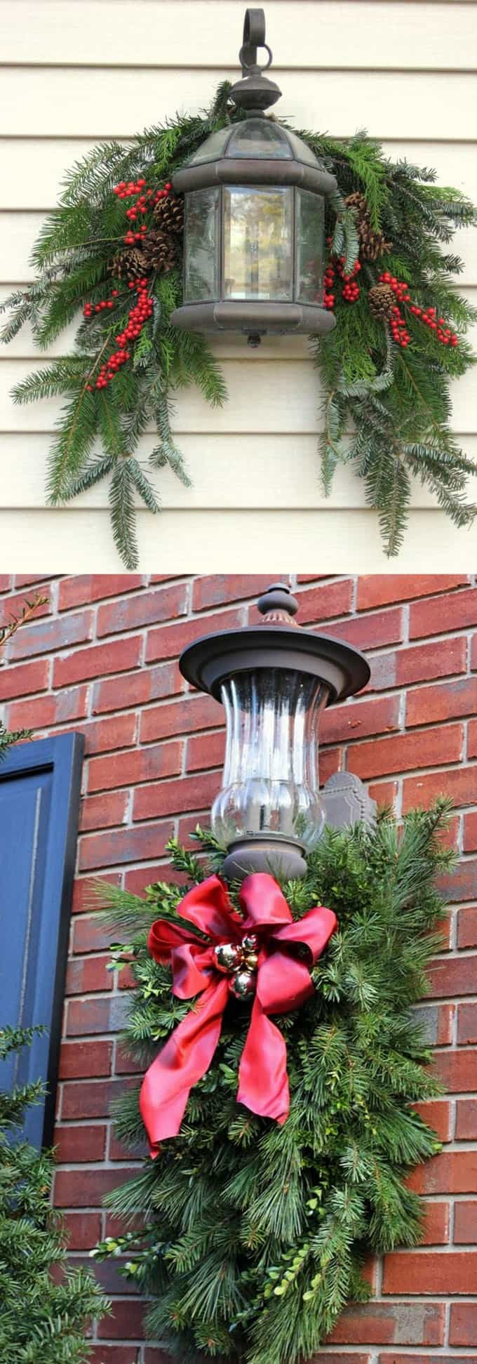 DIY Outdoor Xmas Decorations  Gorgeous Outdoor Christmas Decorations 32 Best Ideas