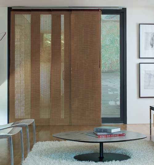 DIY Panel Track Blinds  Levolor Panel Track Blinds Woven Woods
