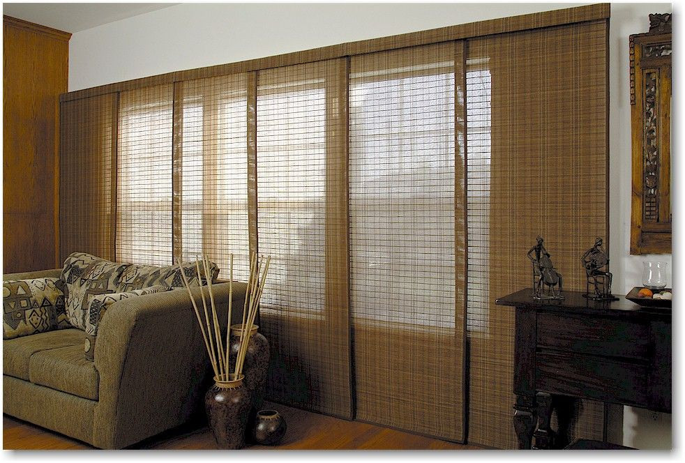DIY Panel Track Blinds  The Panel Track system is narrow panels that stack to one