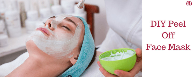 DIY Peel Mask  DIY Peel off face mask for facial with or without gelatin