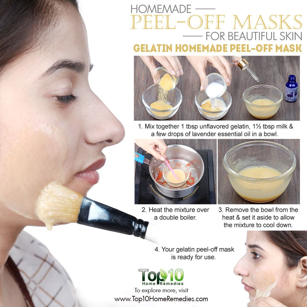 DIY Peel Off Face Mask With Egg  Homemade Peel f Masks for Glowing Spotless Skin