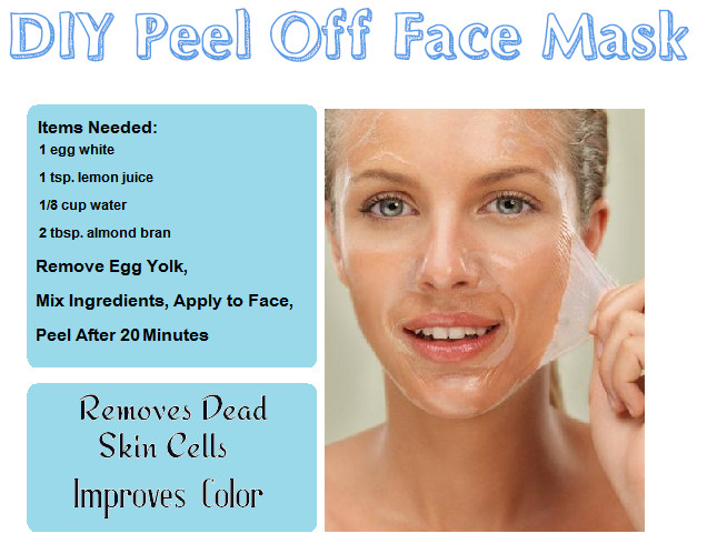 DIY Peel Off Face Mask With Egg  DIY Beauty Recipes Reme s & Foods