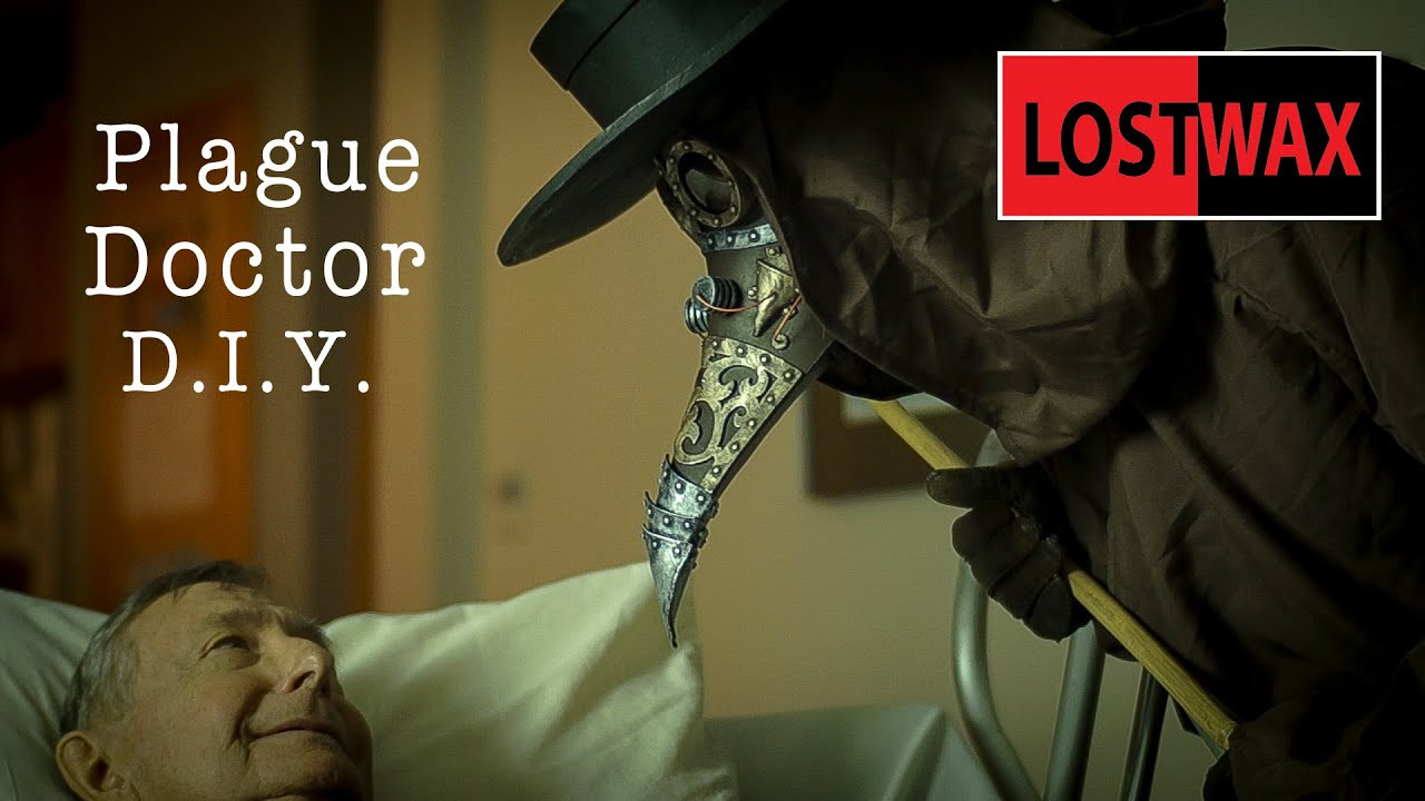 DIY Plague Doctor Mask  DIY Steampunk Plague Doctor Mask and Pattern How to make