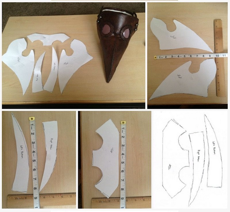 DIY Plague Doctor Mask  Make This Amazing Plague Doctor s Mask