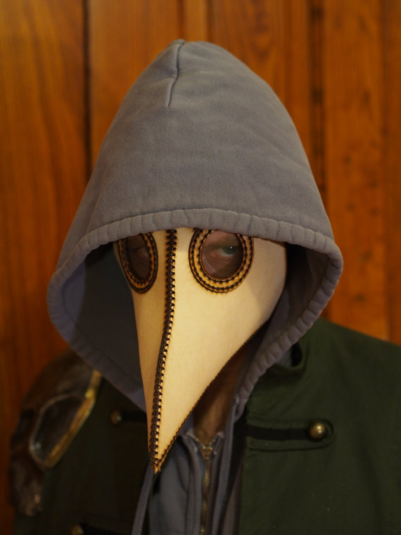 DIY Plague Doctor Mask  Auctions for Science DIY Plague Doctor Mask & Shoot