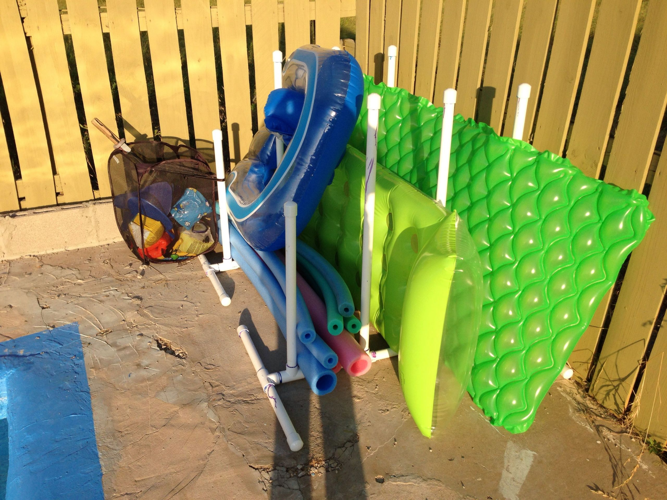 DIY Pool Float Organizer  Pin on Finished projects