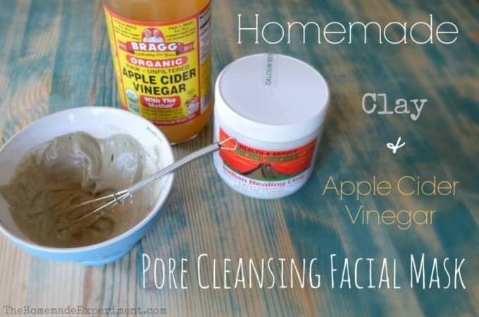 DIY Pore Cleansing Mask  Homemade Clay Pore Cleansing Facial Mask