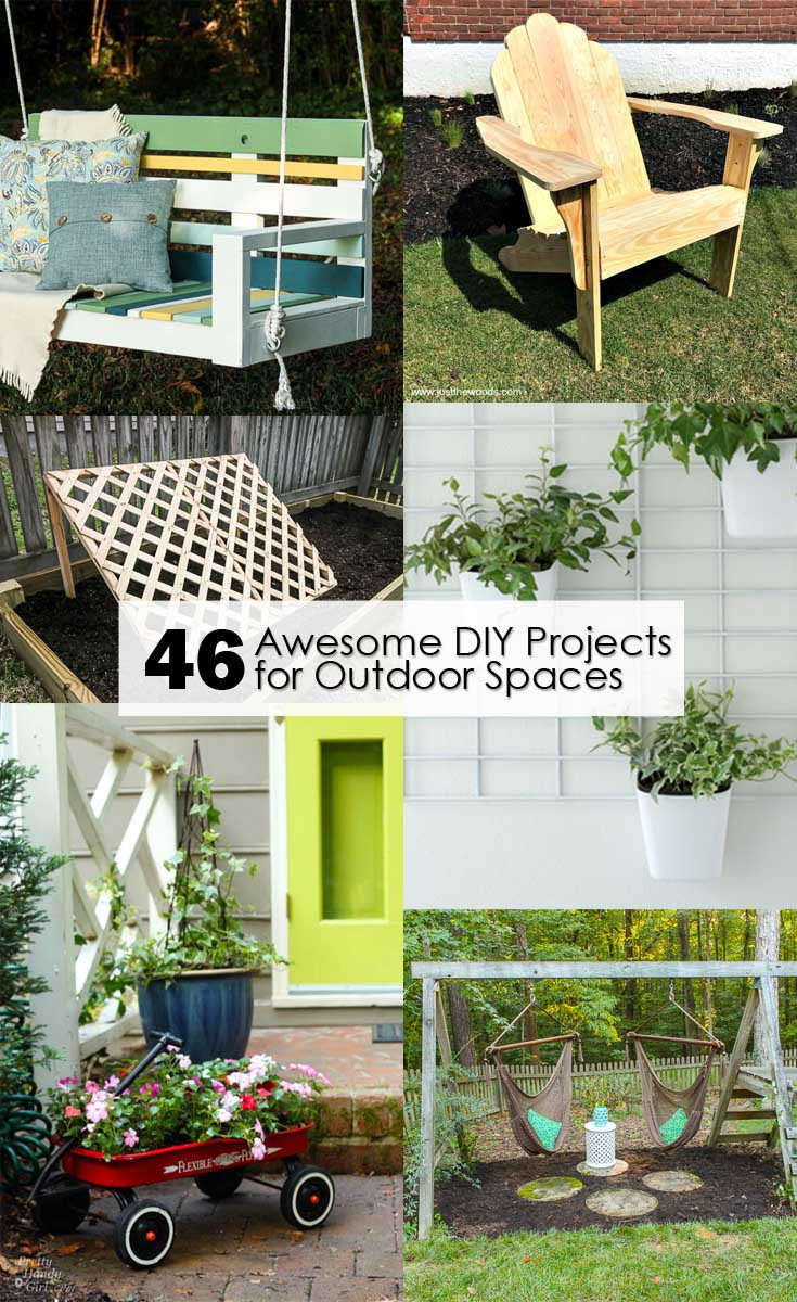 DIY Projects Outdoor  46 Awesome DIY Projects for Outdoor Spaces Pretty Handy Girl