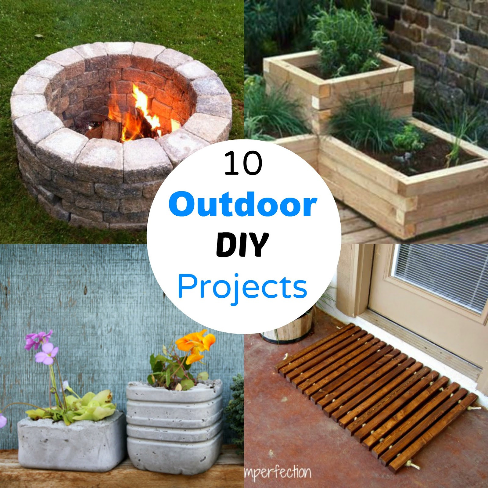 DIY Projects Outdoor  10 Outdoor DIY Projects