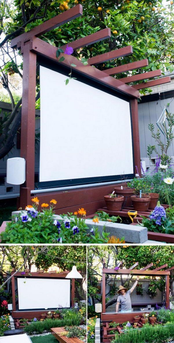 DIY Projects Outdoor  20 Awesome DIY Backyard Projects Hative