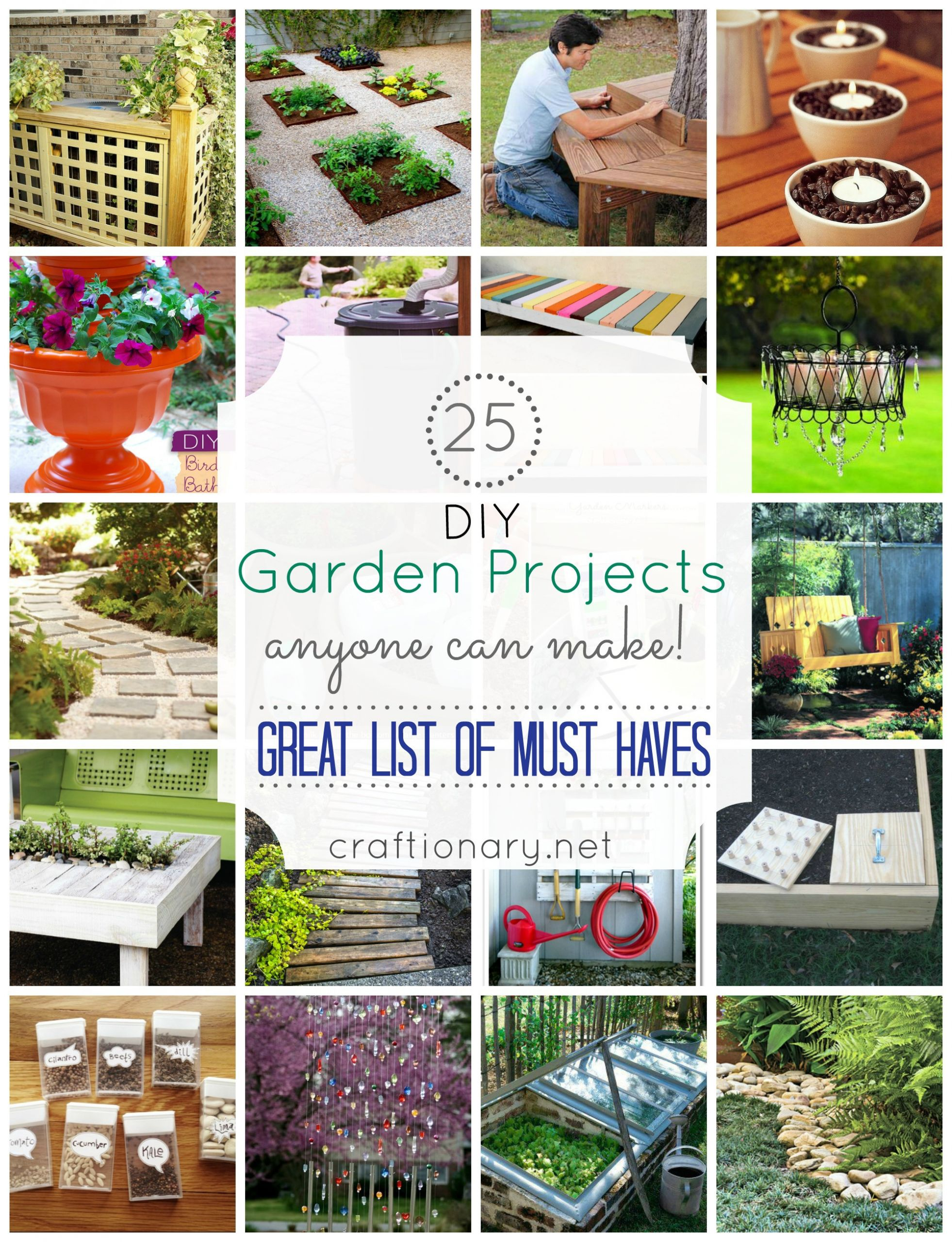 DIY Projects Outdoor  Craftionary