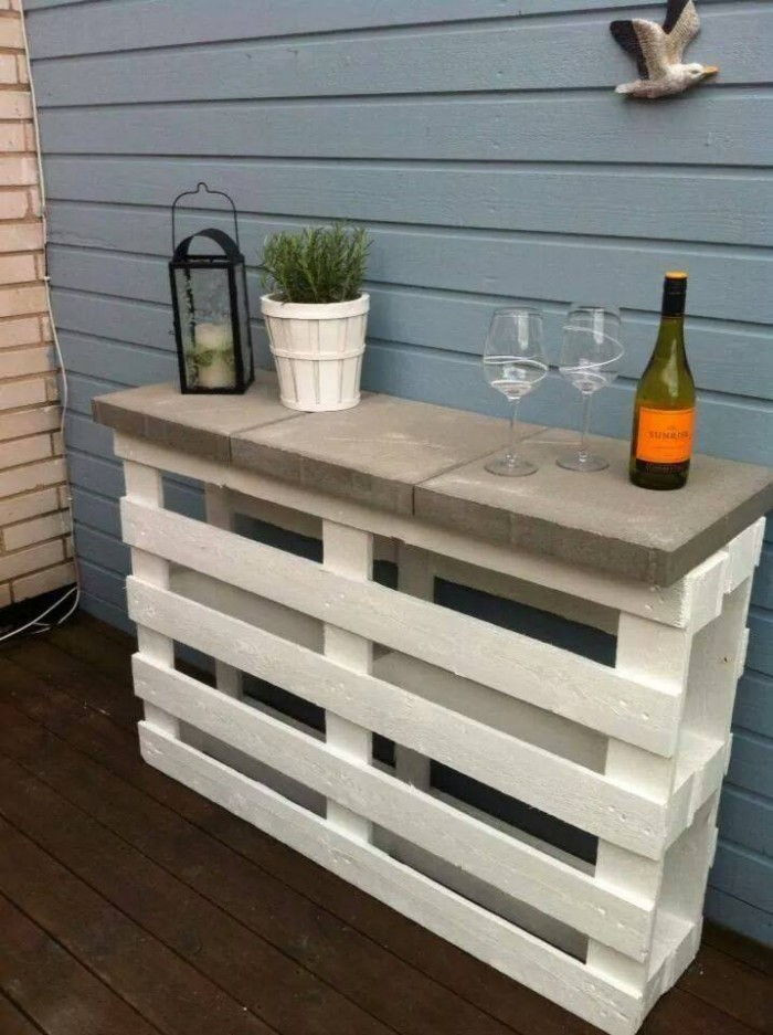 DIY Projects Outdoor  40 Creative Pallet Furniture DIY Ideas And Projects