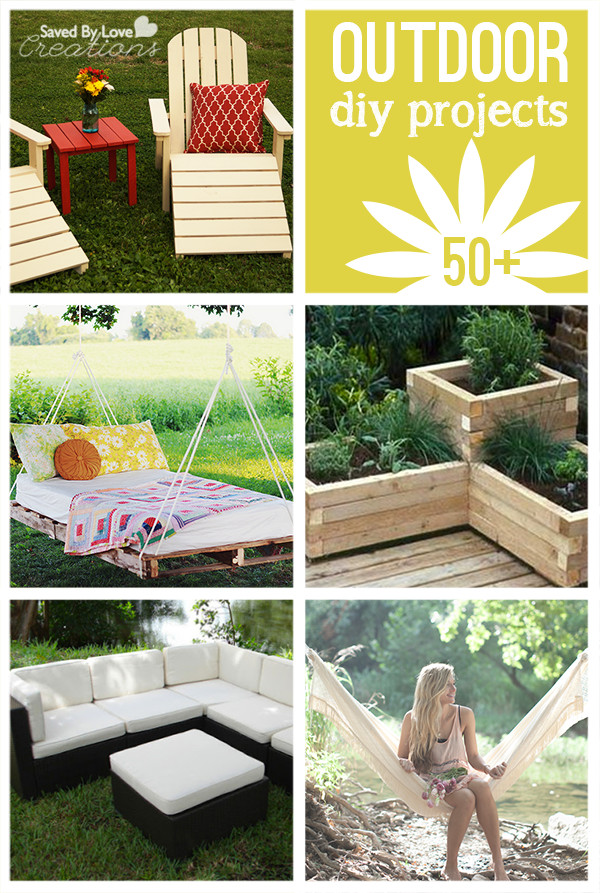 DIY Projects Outdoor  50 Plus DIY Outdoor Project Tutorials to Make