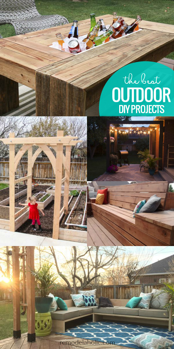 DIY Projects Outdoor  Remodelaholic