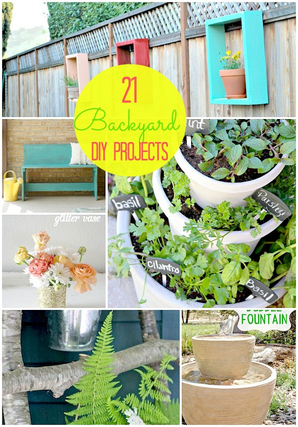 DIY Projects Outdoor  Great Ideas 21 Backyard Projects for Spring