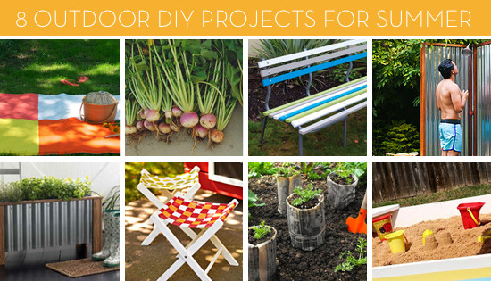 DIY Projects Outdoor  8 Outdoor DIY Projects for Summer