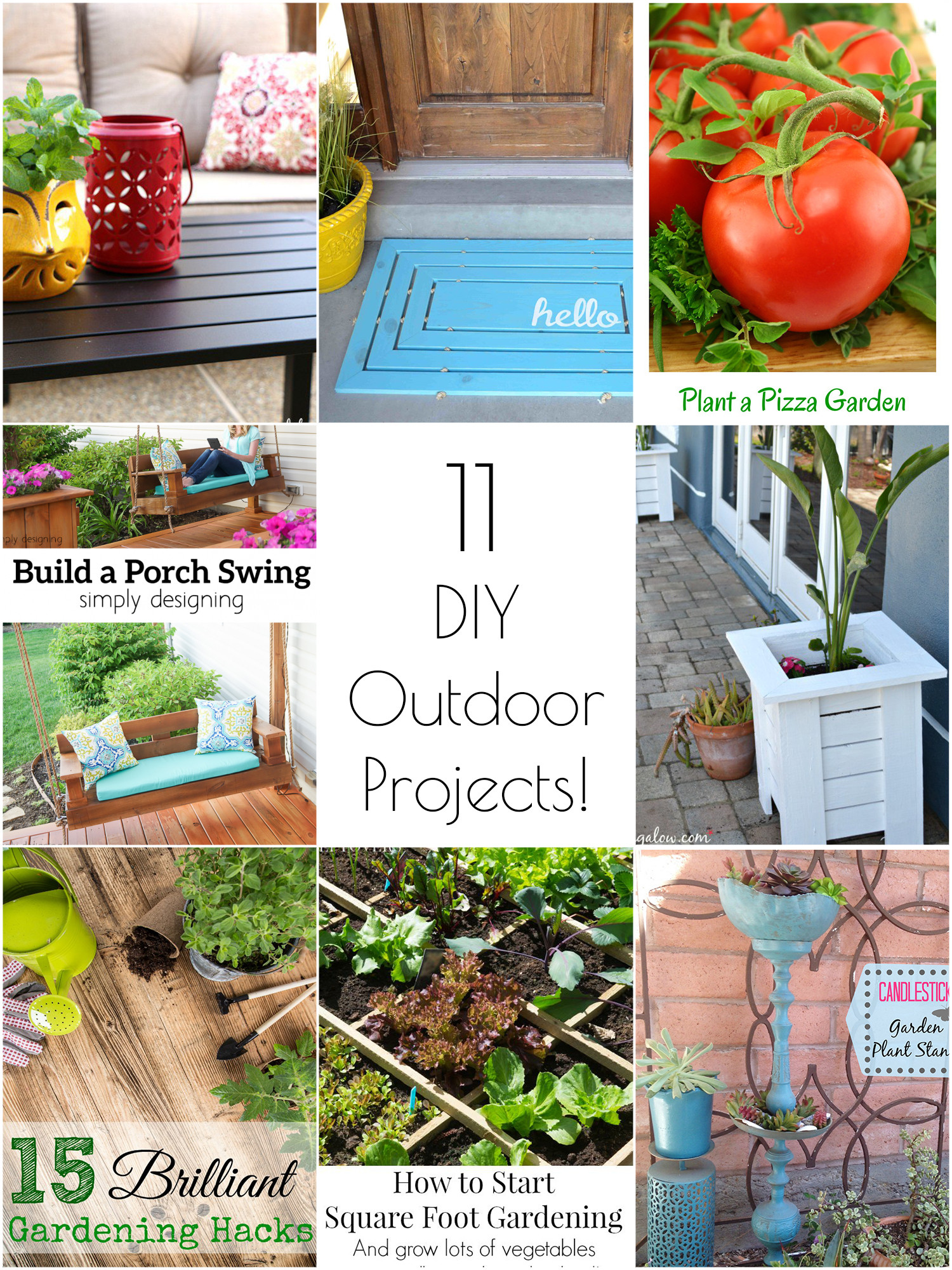 DIY Projects Outdoor  So Creative 11 Amazing DIY Outdoor Projects