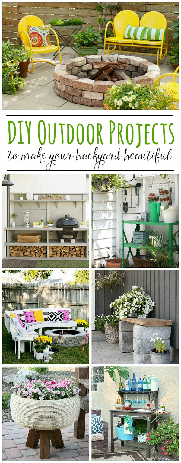 DIY Projects Outdoor  Best Backyard DIY Projects Clean and Scentsible