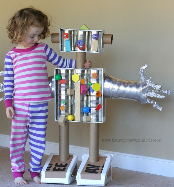 DIY Robots For Kids  13 Robot Crafts Your Kids Will Beg to Make Artsy Craftsy Mom